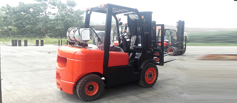 3 ton Gasoline and LPG forklift