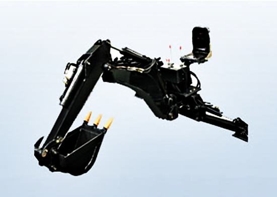 Backhoe for skid steer loader