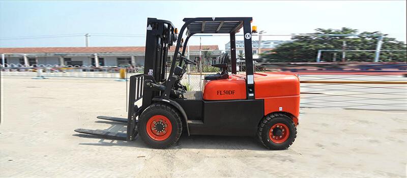 FL50DF 5 ton diesel forklift