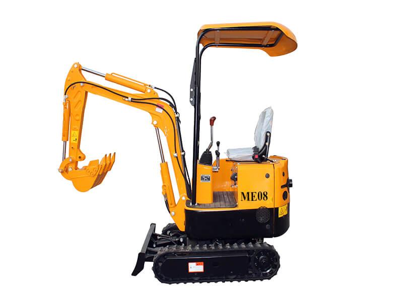 ME08 mini crawler excavator