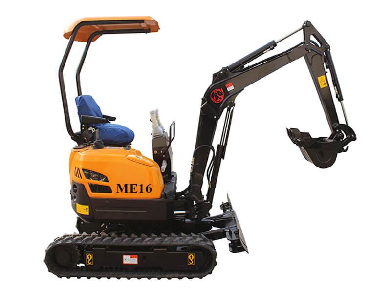 ME16 mini crawler excavator