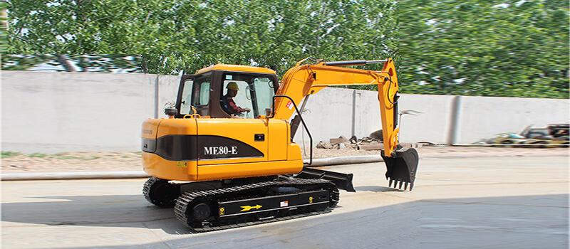 ME80-E crawler excavator
