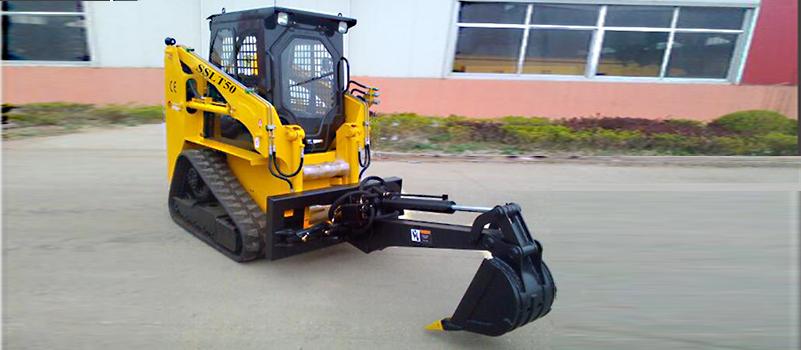 SSLT50 track skid steer loader