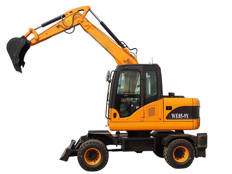 WE89-9Y wheel excavator