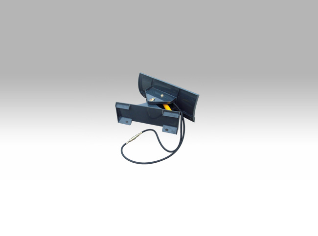 angle blade for mini loader