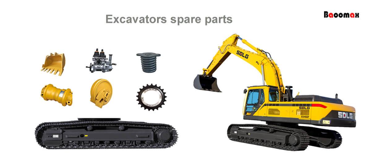 Excavators spare parts